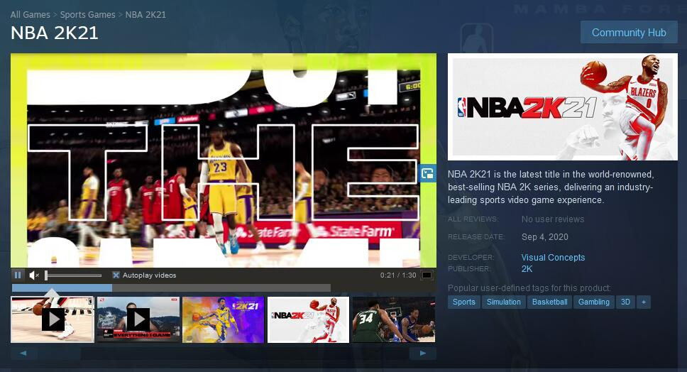 How to DownLoad NBA 2K21 at Steam